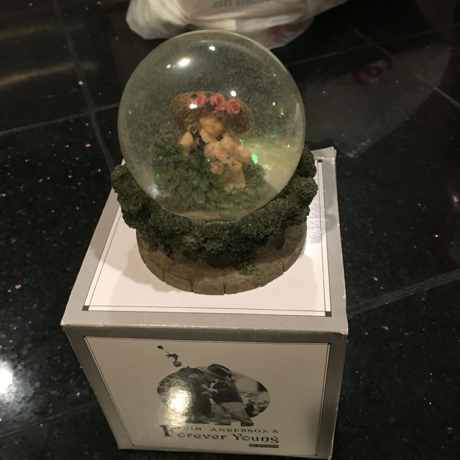 Best Kim Anderson Forever Young Snow Globe For Sale In