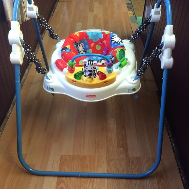 a7b50062e Find more Fisher-price Adorable Animals Jumperoo for sale at up to ...