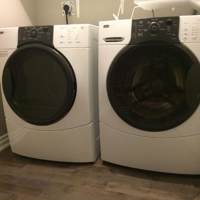 Find More Kenmore Elite Quiet Pack Washer And Dryer Dryer Comes