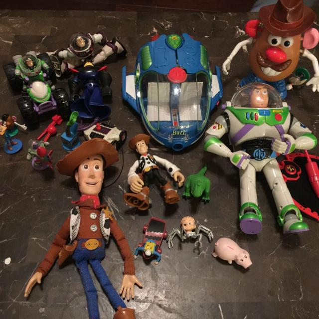 Find More Big Lot Of Toy Story Toys 14 For All Including