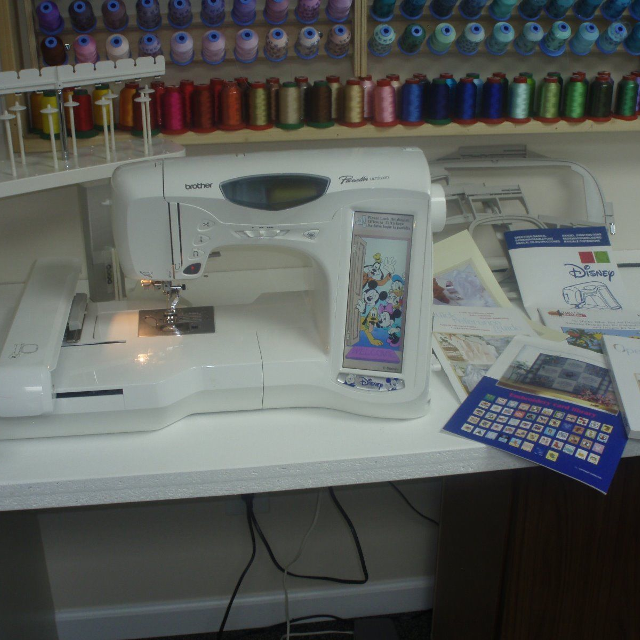 Best Brother Pacesetter Ult40d Disney Quiltingembroidery New Brother Disney Sewing Machine