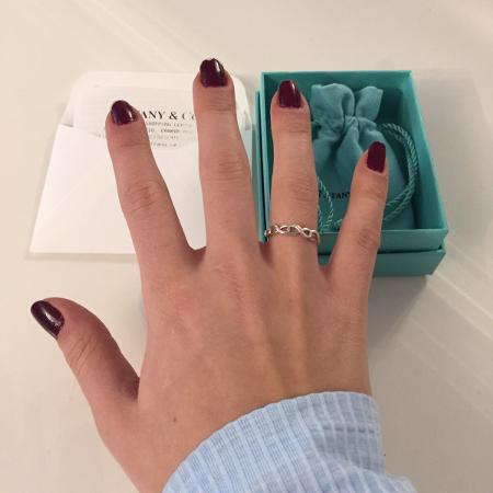 Used, Tiffany Infinity Ring Size 5.5... for sale  Canada
