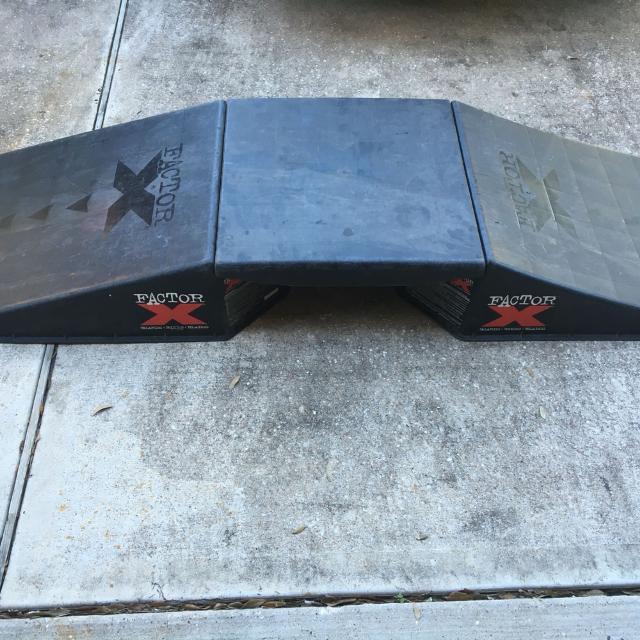Find More Skate Board Bike Blade Ramp X Factor Pick Up Only