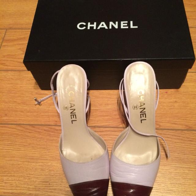 5fcd4cb437a957 Find more Euc 100% Authentic Chanel Shoes Size 8 With Dust Bag And ...