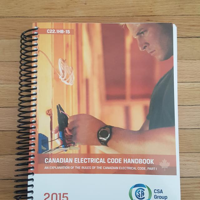 Find more 2015 Canadian Electrical Code Book: Brand New Cec for sale ...