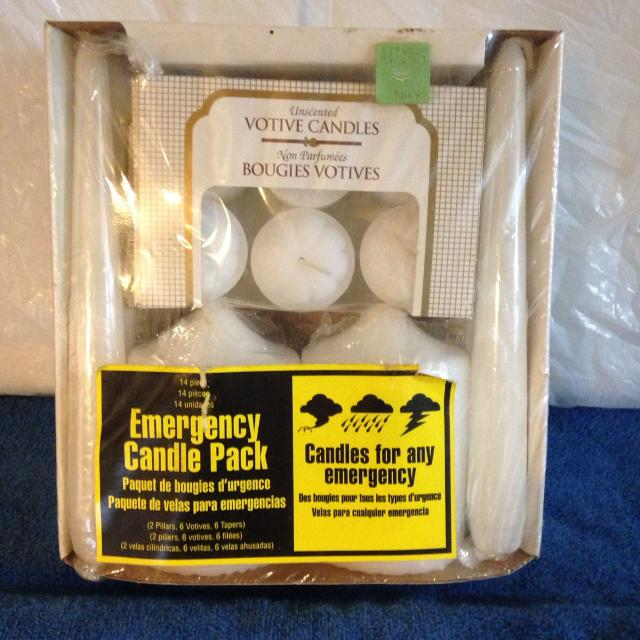 Emergency candle kit (All my posts include delivery*)