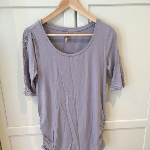 20e01926eded9 Find more Thyme Maternity Shirt. Sz M (8-10). for sale at up to 90 ...