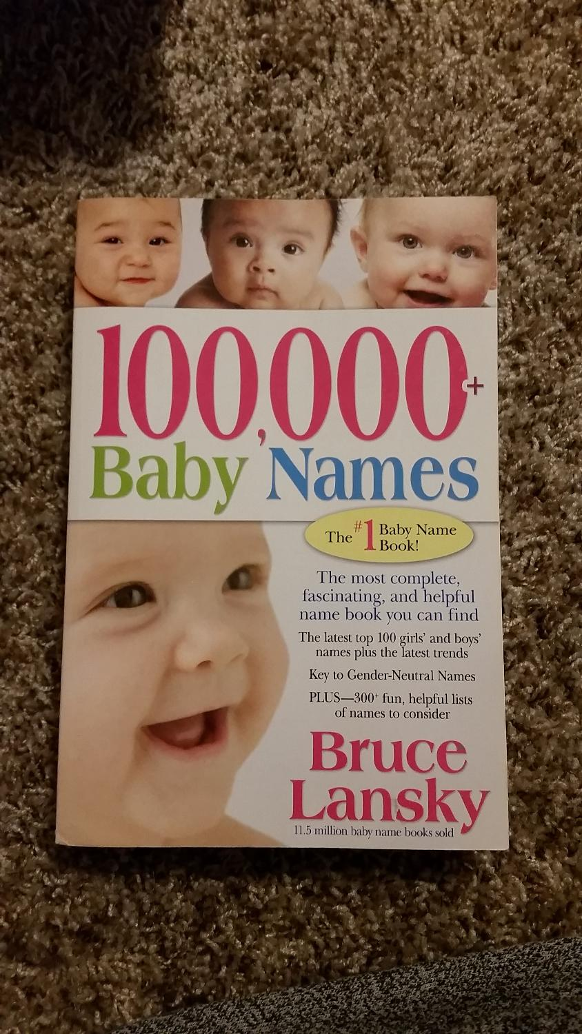 Best 100000+ Baby Names, The #1 Baby Name Book! By Bruce Lansky for sale in  Hamilton, Ontario for 2018