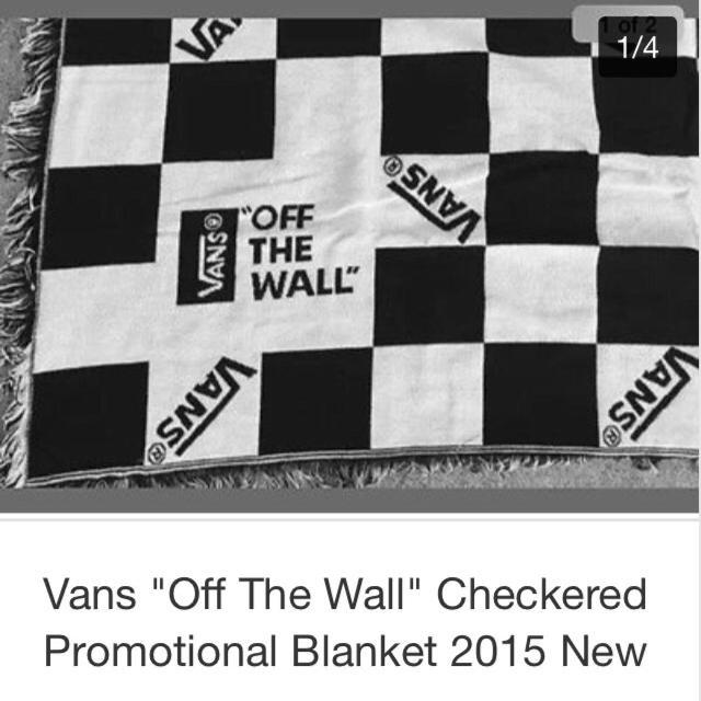 1e37c68236 Best Vans. Off The Wall Blanket for sale in Huntersville