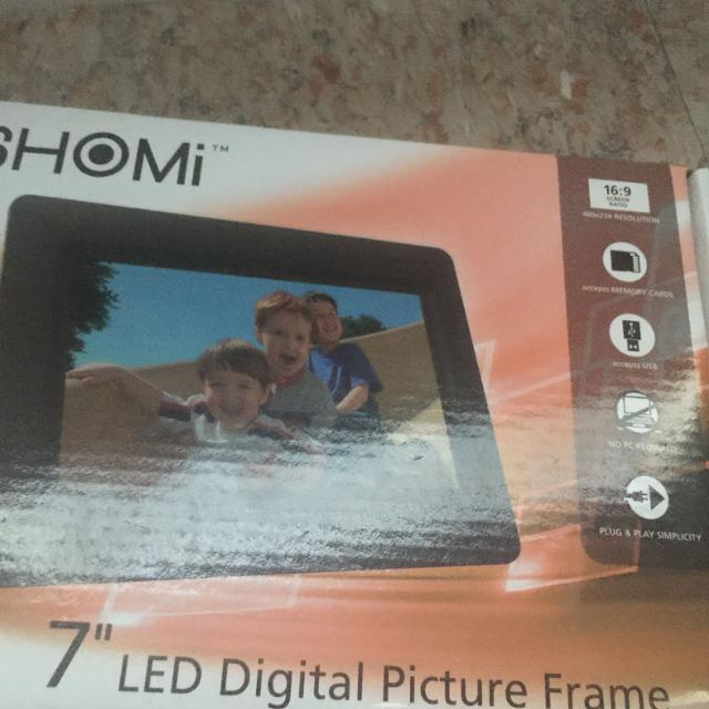 Best Shomi 7 In Digital Picture Frame For Sale In Pensacola Florida