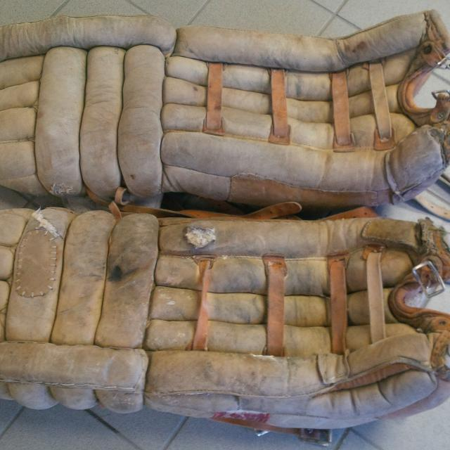 Find More Vintage Goalie Hockey Pads For Sale At Up To 90 Off