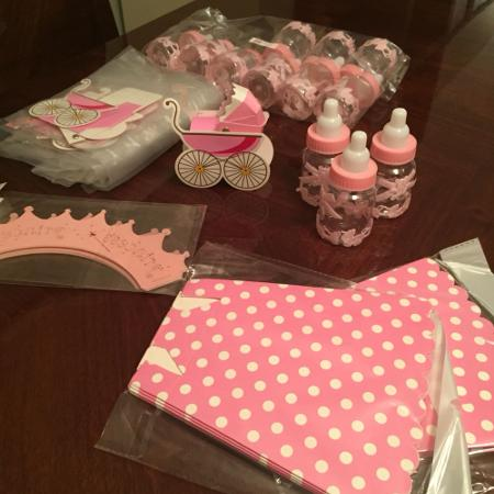 Brand new baby shower ( baby girl) stuff for sale  Canada