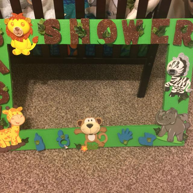 Find more Safari Baby Shower Photo Prop Frame for sale at up to 90% off