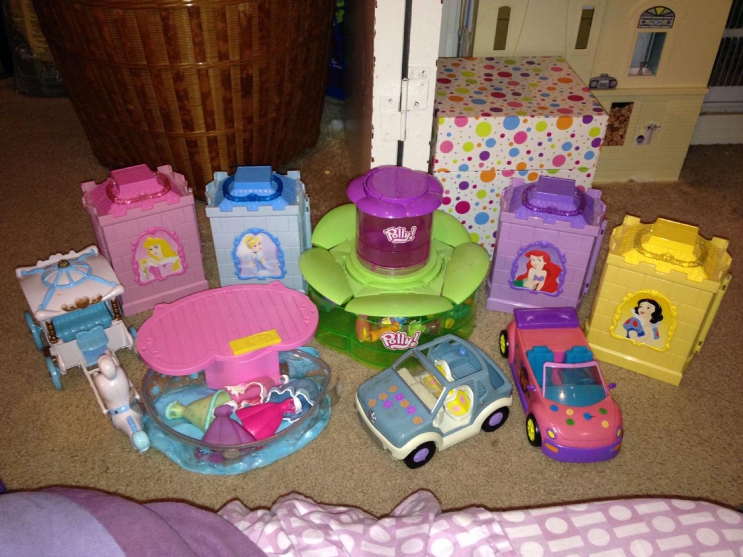 Giant Polly pocket Disney princess sets Reduced Price $45 (not half off)