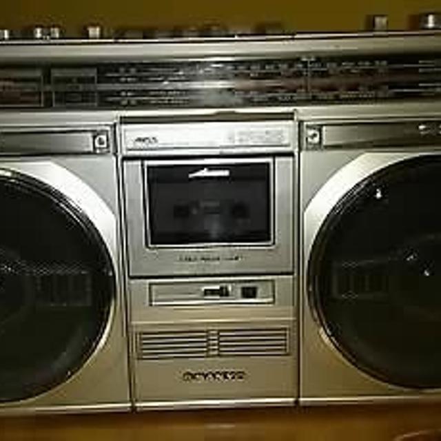 Vintage SANYO M9935K AM/FM/SW1/SW2 Boombox Ghetto Blaster Stereo Cassette