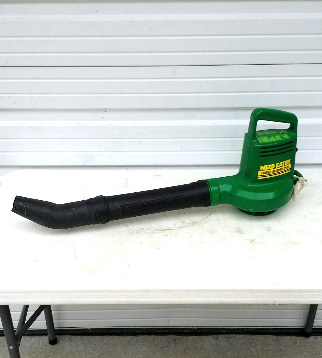 Find More Weed Eater Power Blower 2510 Groundsweeper Electric Leaf For Sale At Up To 90 Off