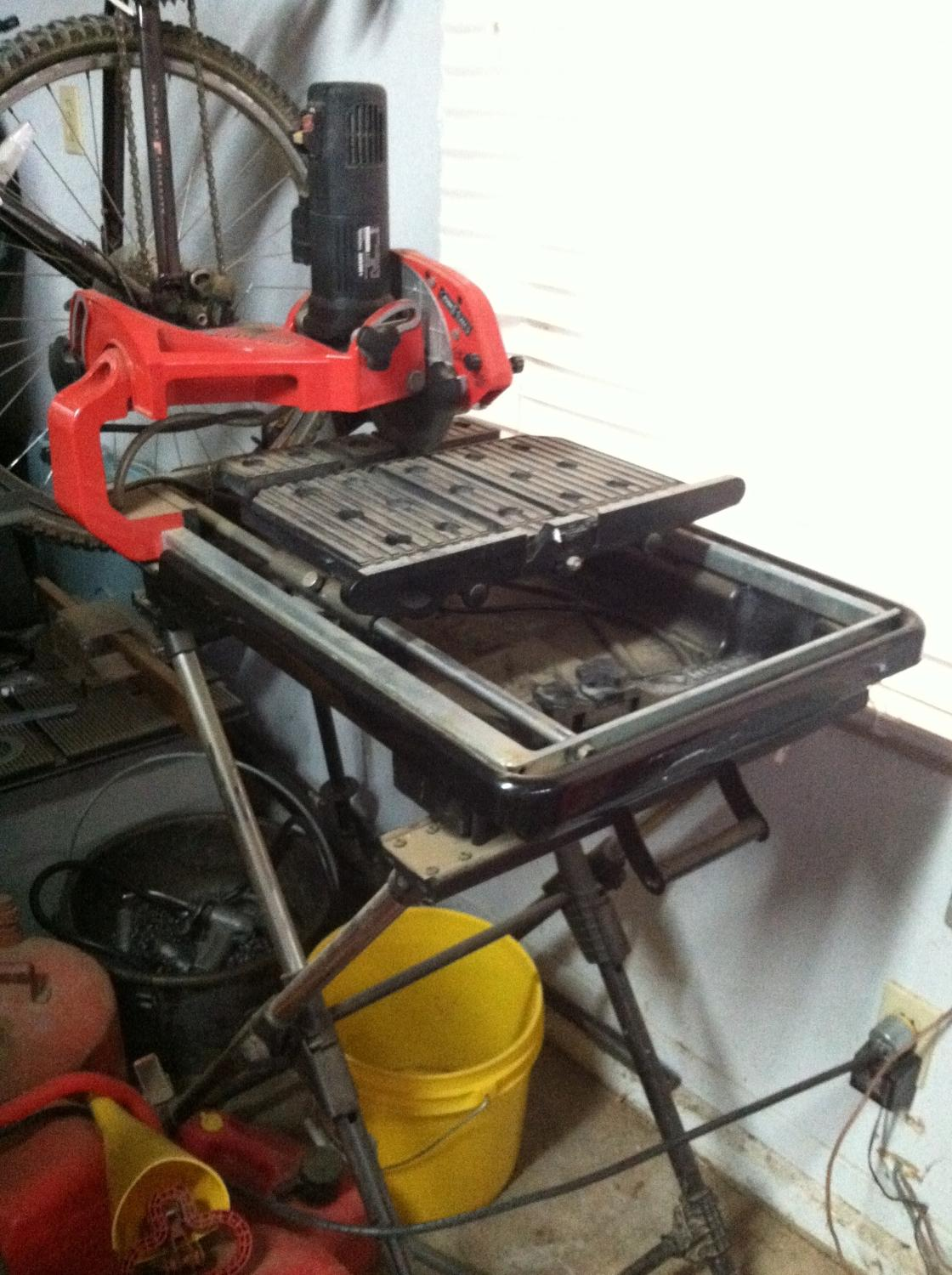 husky tile saw thd950l owners manual
