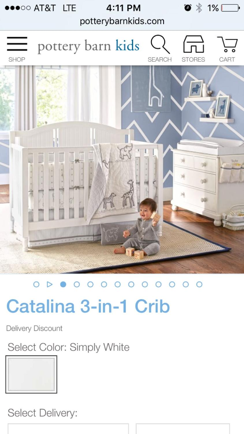 Crib for sale in fort lauderdale fl - Best This Convertible White Pottery Barn Crib This Convertible White Mod Crib This White Pottery Barn Changing Table 150 Each All Parts Incl For Sale In