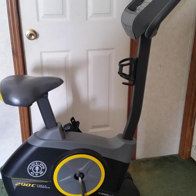Fitness Equipment Nashville: Best Gold's Gym 290c Cycle Trainer Smr For Sale In