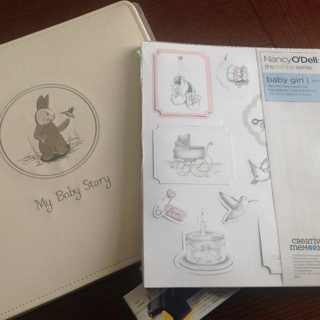Brand new Creative Memories Baby Girl scrapbook/album