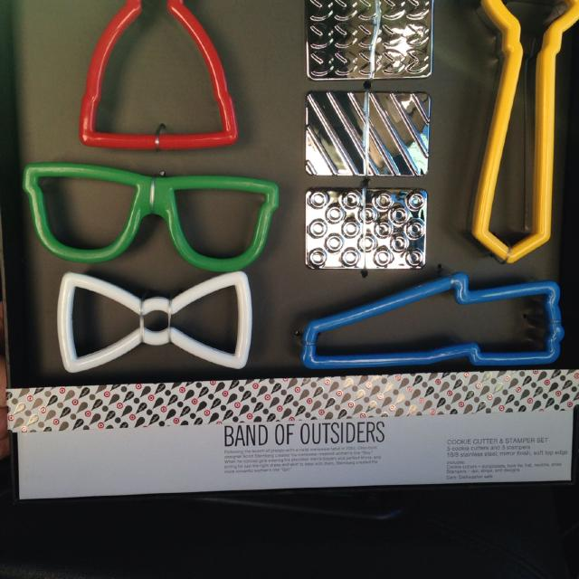 62537f95512 Find more Band Of Outsiders Cookie Cutter   Stamp Set for sale at up ...