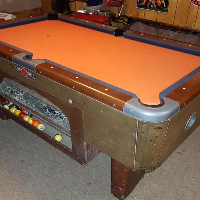 Best Valley Pool Table For Sale For Sale In Marietta Georgia - Valley pool table coin mechanism
