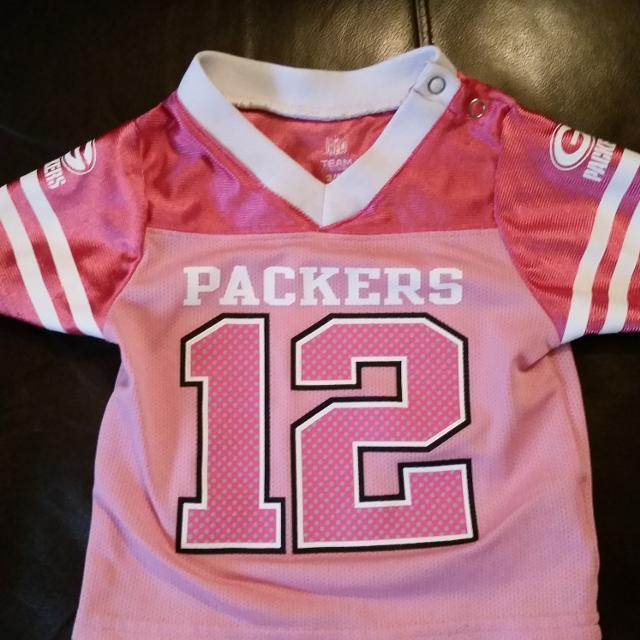 wholesale dealer e3bec de5c8 3-6 month baby girl Aaron Rodgers jersey