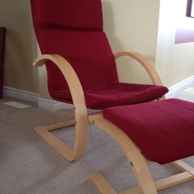 Find more chair and foot stool very similar to the ikea poang style 60 or best offer very - Chairs similar to poang ...