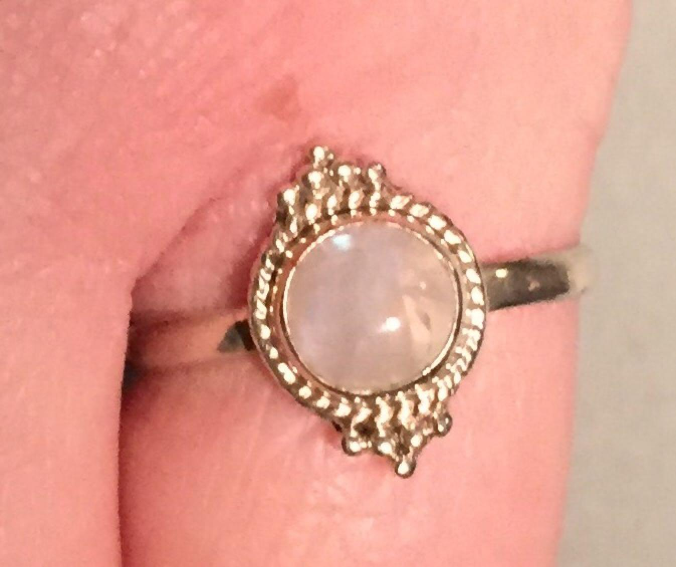 Find more Size 9 Close Out Price!! 925 Sterling Silver Moonstone ...