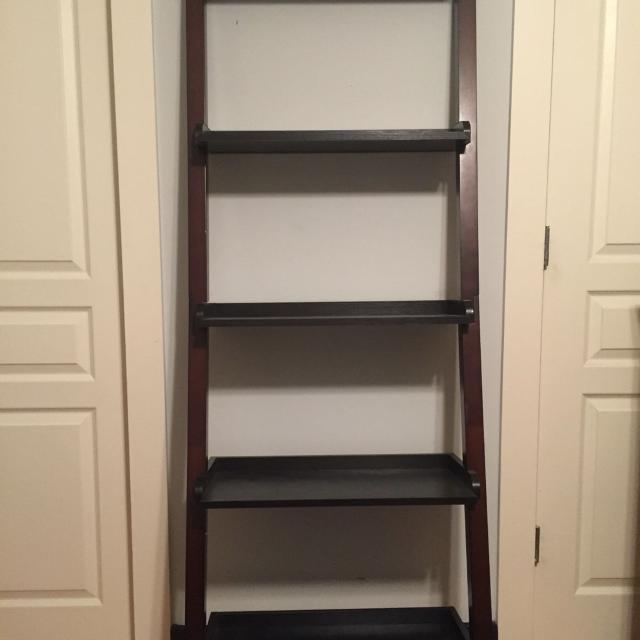 check out 6046e 8c70c Threshold Carson Leaning Bookcase