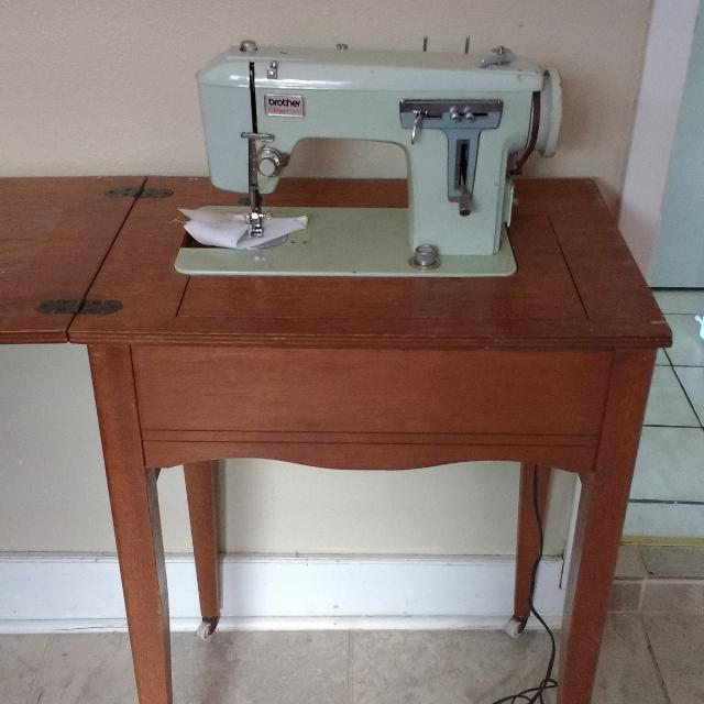 Find More Vintage Brother Charger 40 Sewing Machine For Sale At Up Awesome Brother Sewing Machine Table