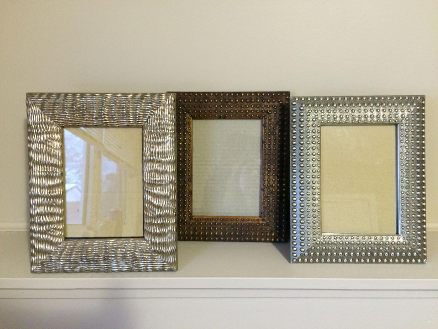 Find more Metal Tone Tahari Home Picture 5x7 Frame Set for sale at ...