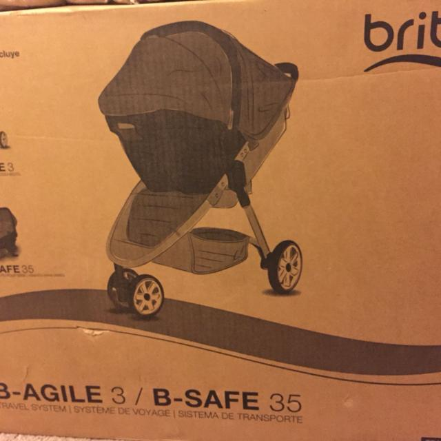 15f018af5 Find more New In Box- Britax B-agile 3 & B-safe 35 Travel System for ...