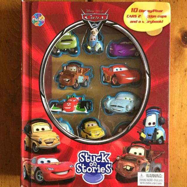 'Cars 2' Stuck on Stories Figure and Book Set