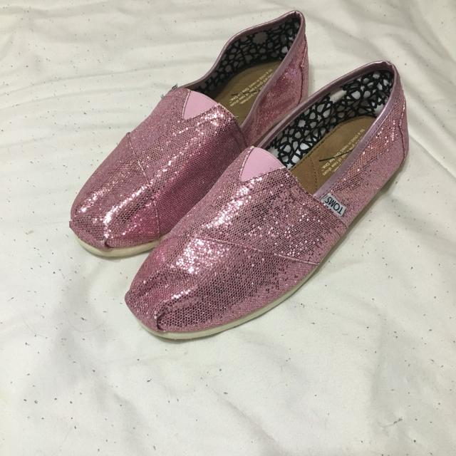 07763d50109 Best Pink Glitter Toms for sale in Potranco Road