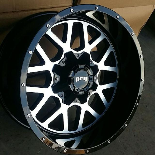 Best Off Road Wheels >> 20x10 Dfd Offroad Wheels And Mud Tires