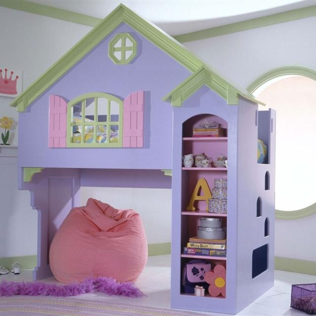 Find More Olivia Dollhouse Twin Size Bed Can Fit Full Under For