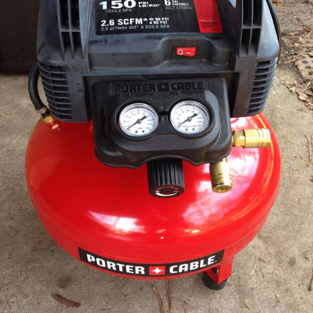 Find More Porter Cable 6 Gallon 150 Psi Air Compressor Used Once