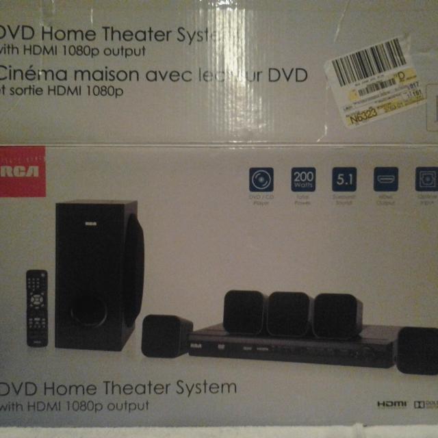 Rca 200 Watt Dvd Home Theater System 85 Er Can Meet Near El Paso Tx