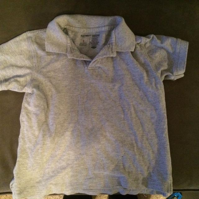 33e4d053d Find more Old Navy Kids Polo Shirt Size Small 6-7 Roughly. Has A ...