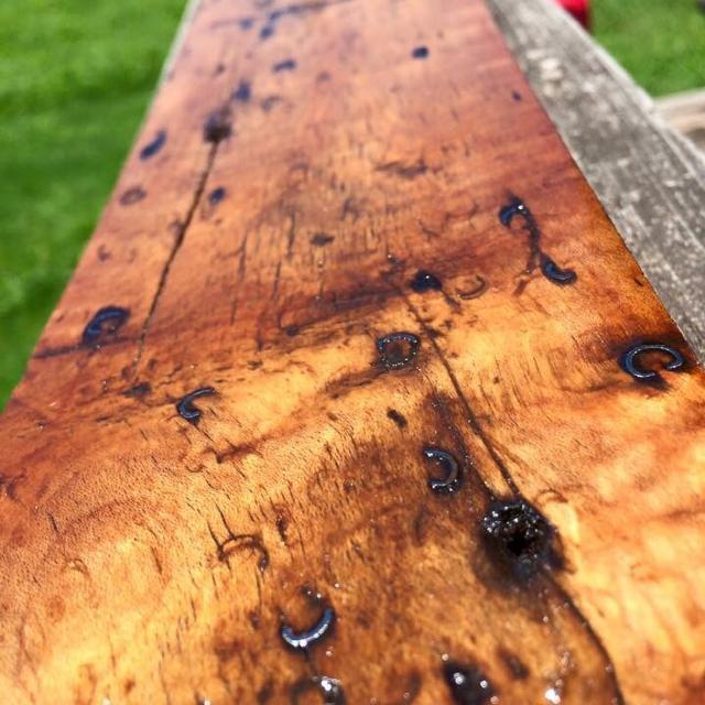 Reclaimed 100 Year Old Maple Hardwood Floors