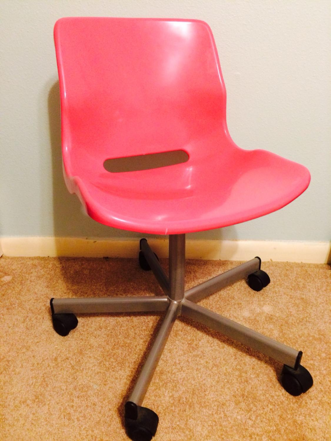 Find More Ikea Hot Pink Desk Chair Price Reduced For Sale At Up