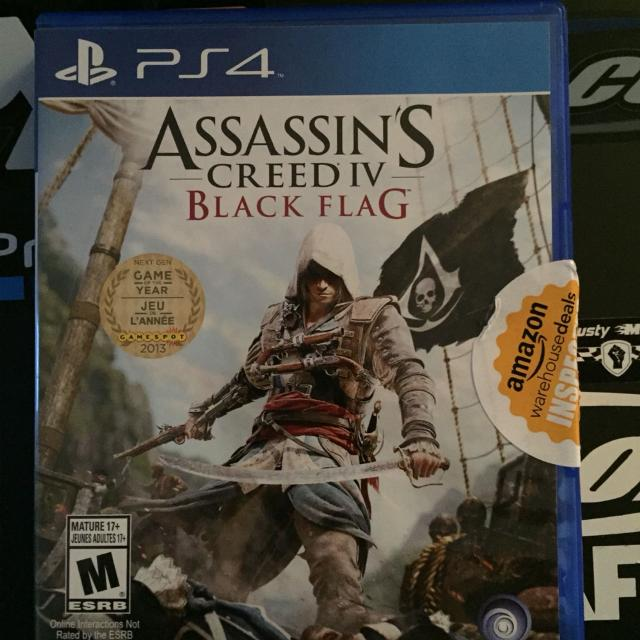 Find More Assassins Creed Black Flag Ps4 For Sale At Up To 90 Off