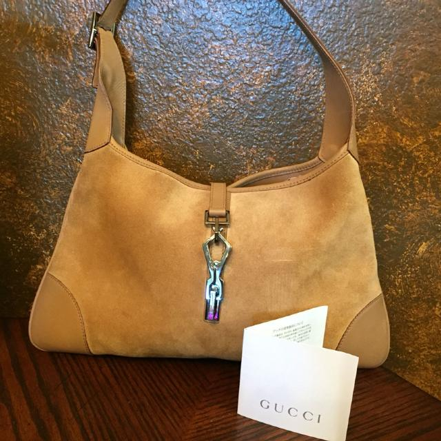 8403ee72bdad Best Authentic Gucci Suede Jackie Hobo Bag for sale in Arlington, Texas for  2019
