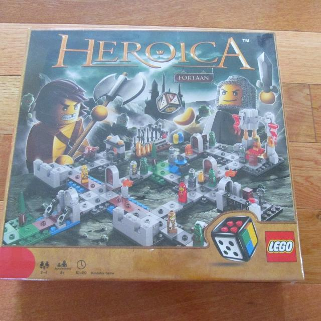 LEGO HEROICA Castle Fortaan Buildable Game BRAND NEW IN PKG (currently $45  on Amazon)