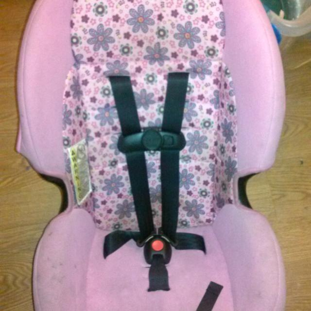 Cosco Pink Flower Car Seat