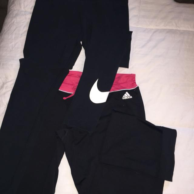 30e6b2aeb64 Find more Nike Leggings And Adidas Nylon Pants ! Size M for sale at ...