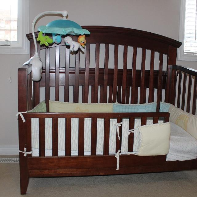 Find More Shermag Chanderic Regency Delux Convertible Crib With