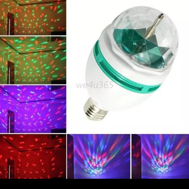 best led lighting full color rotating lamp disco party bar club