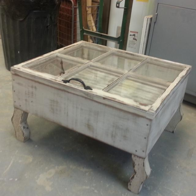 Old Window Coffee Table Shadow Box: Find More Small Or Large Coffee Table Made From Old